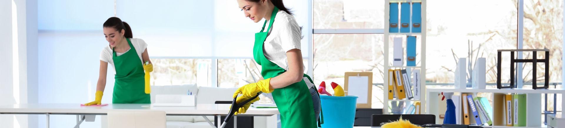 panie profesjonalnie sprzątające biuro
