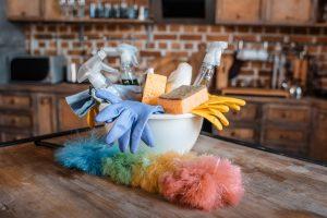 Serwis sprzątający - obraz