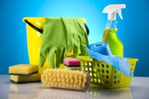 Sprzątanie - sprzęt - obraz